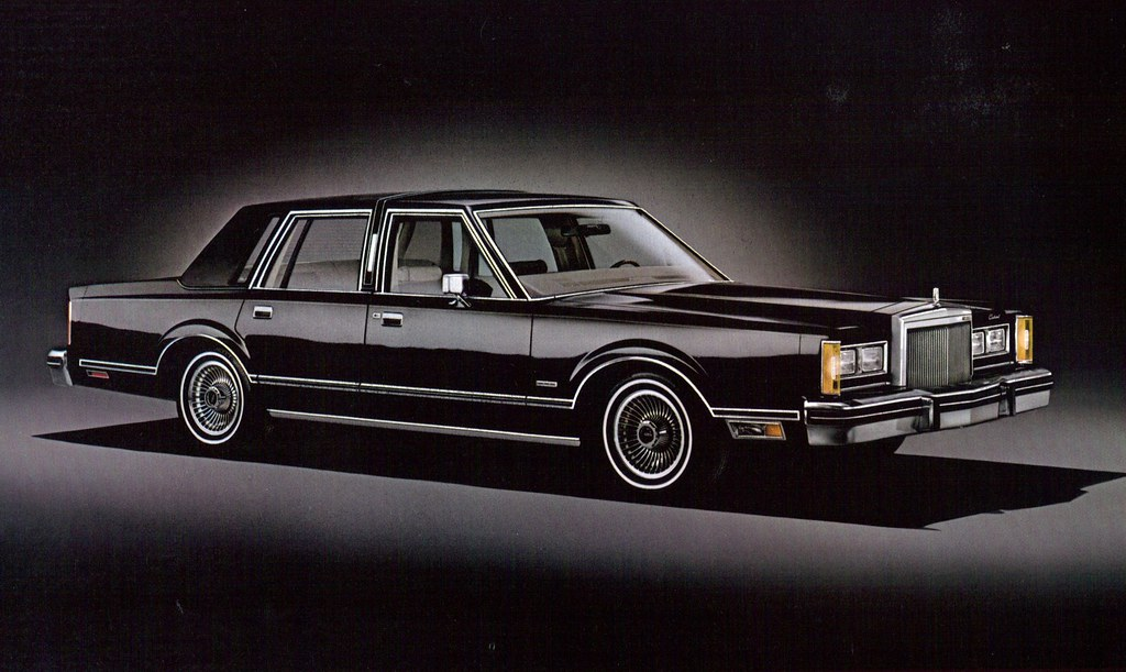 1980 Lincoln Continental Town Car 4 Door Sedan Coconv