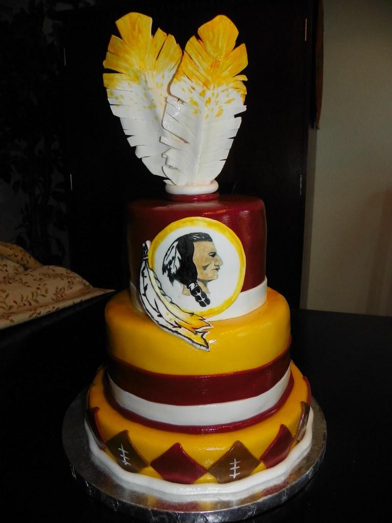 Redskins Cake This Cake Is Not My Original Design I