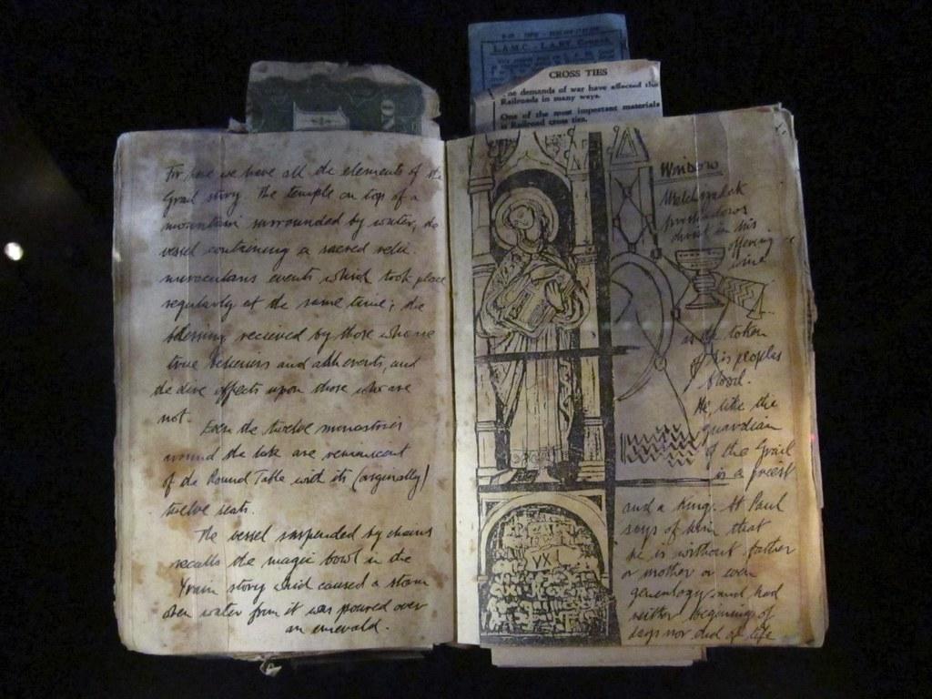Henry jones senior 39 s grail diary le journal du graal de he for Le journal du pays d auge