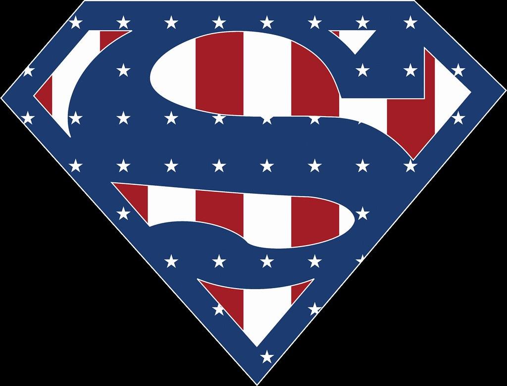 Superman USA Stars and Stripes | Superman USA Stars and ...