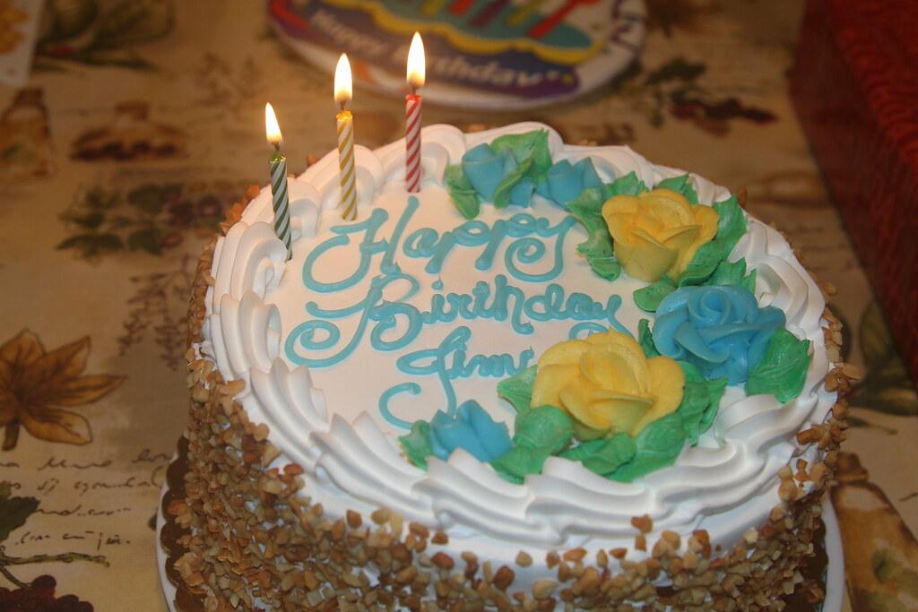 Birthday Cake Italian