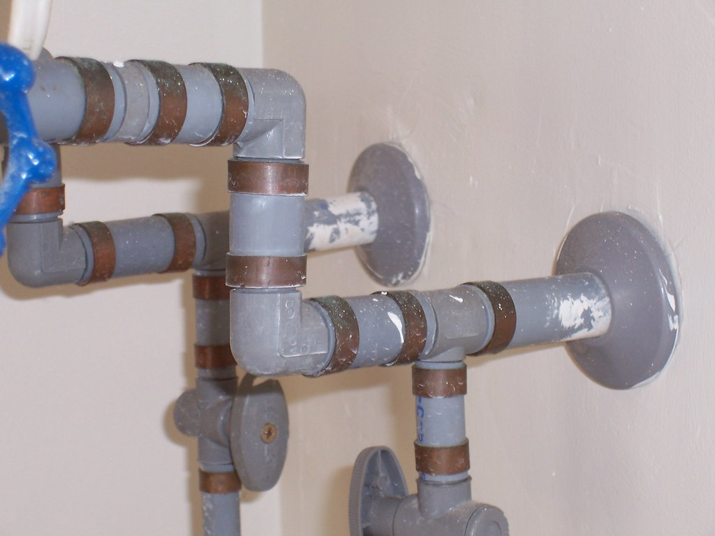 With Plastic Composite Fittings