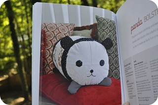 Panda Bolster Pillow | by j_q_adams