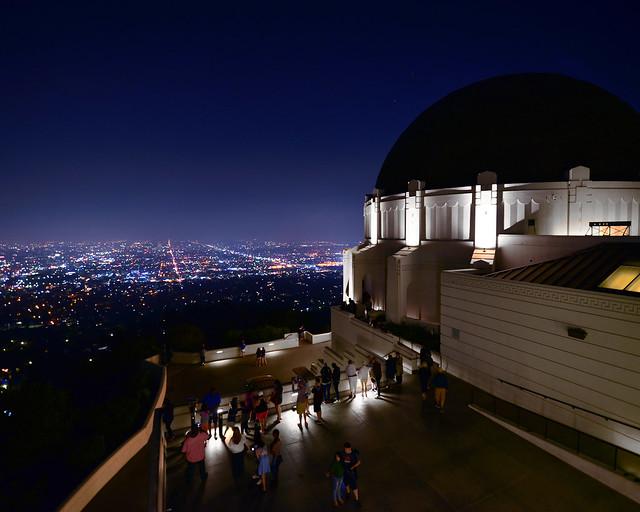 Cúpula del observatorio Griffith de Los Angeles