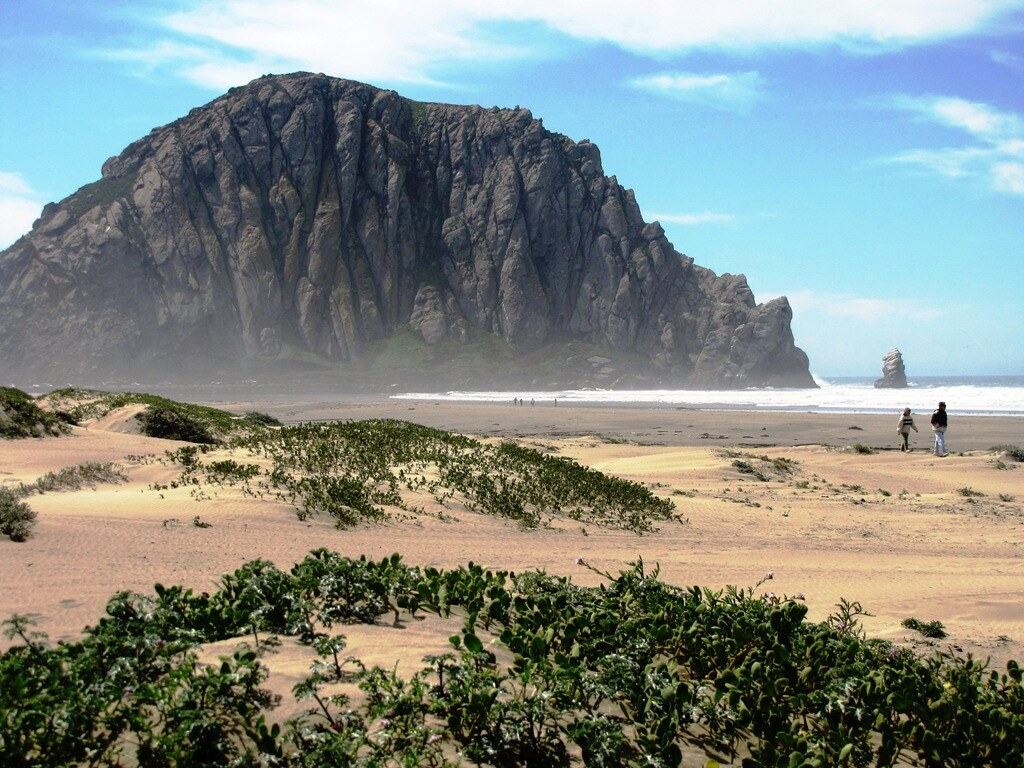 Morro Rock California Coast One Of California S Most