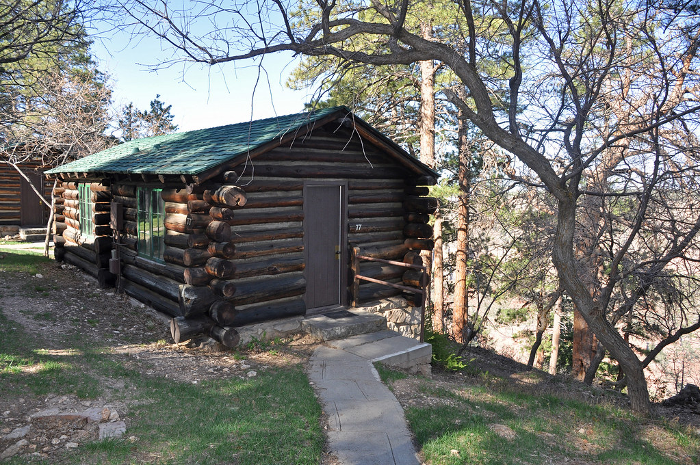 Grand Canyon Lodge North Rim Frontier Cabins 0434 Grand