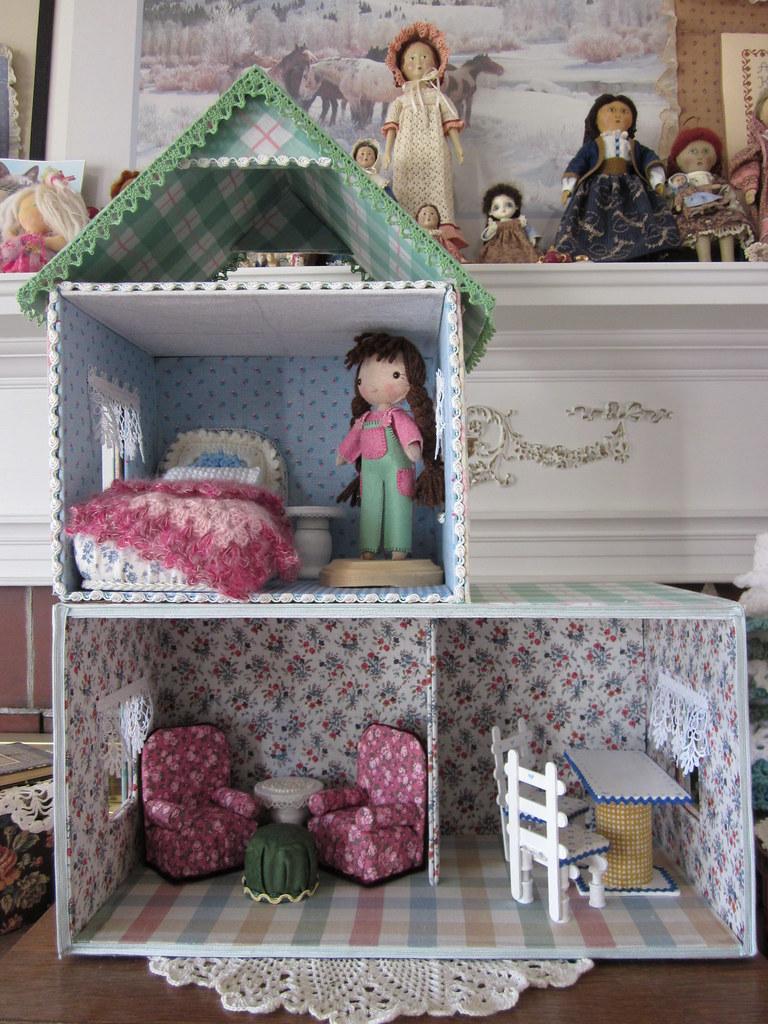 Как сделать своими руками дома для кукол