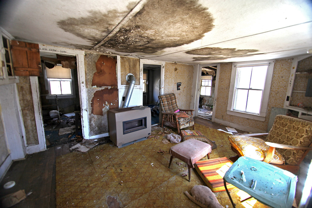 Abandoned house interior brewster cape cod the left for House inside images