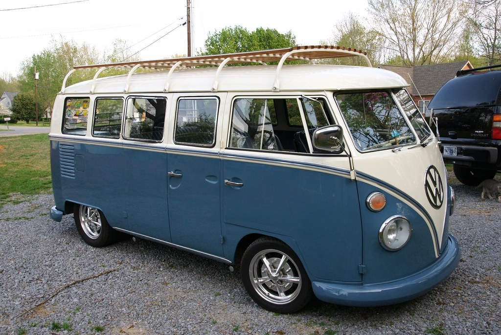 Full Length Vw Bus Roof Rack A Picture Of A Full Length