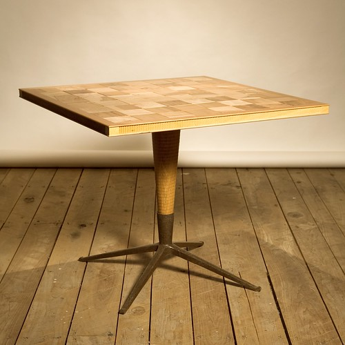 SQ_large_checker_table | by Bradford Woodworking