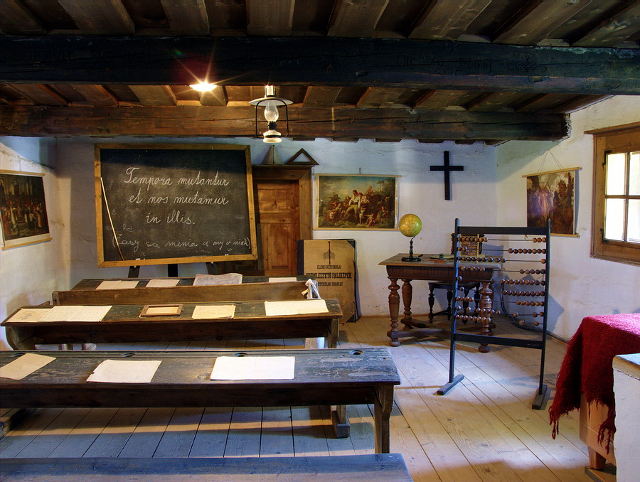 Old School Classroom An Old School Classroom In The