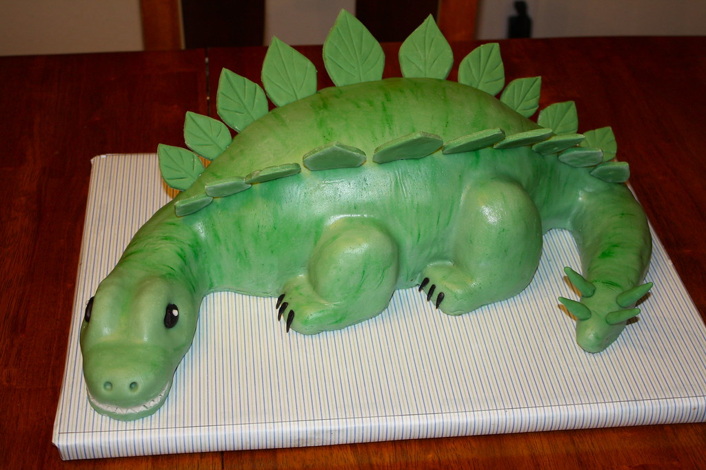 Dinosaur Cake Dinosaur Birthday Cake The Head Tail And