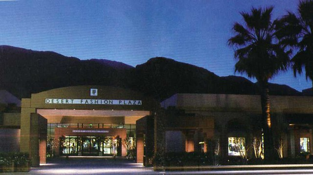 Palm Springs Desert Fashion Plaza s Flickr Photo Sharing