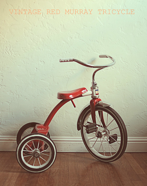 Makers Of Antique Tricycles : Vintage murray tricycle flickr photo sharing
