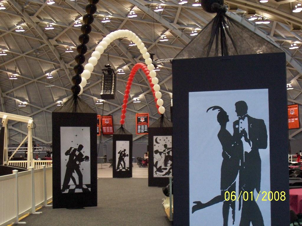 Princeton prom roaring twenties theme celebrationsta for 20s party decoration ideas