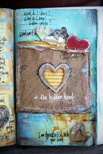 hidden heart page | by me, julle