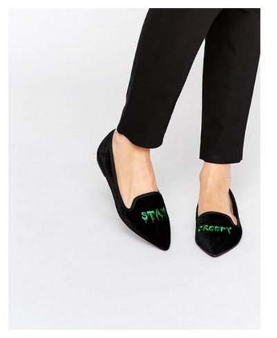 stay creepy loafers