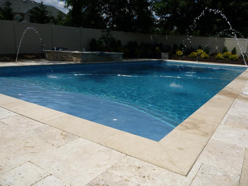 Classic Designer Custom Rectangle Pool Nj Landscapes