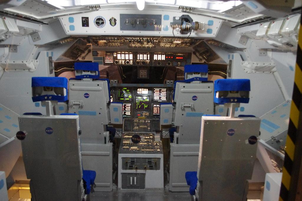 Space Shuttle Interior Space Shuttle Interior
