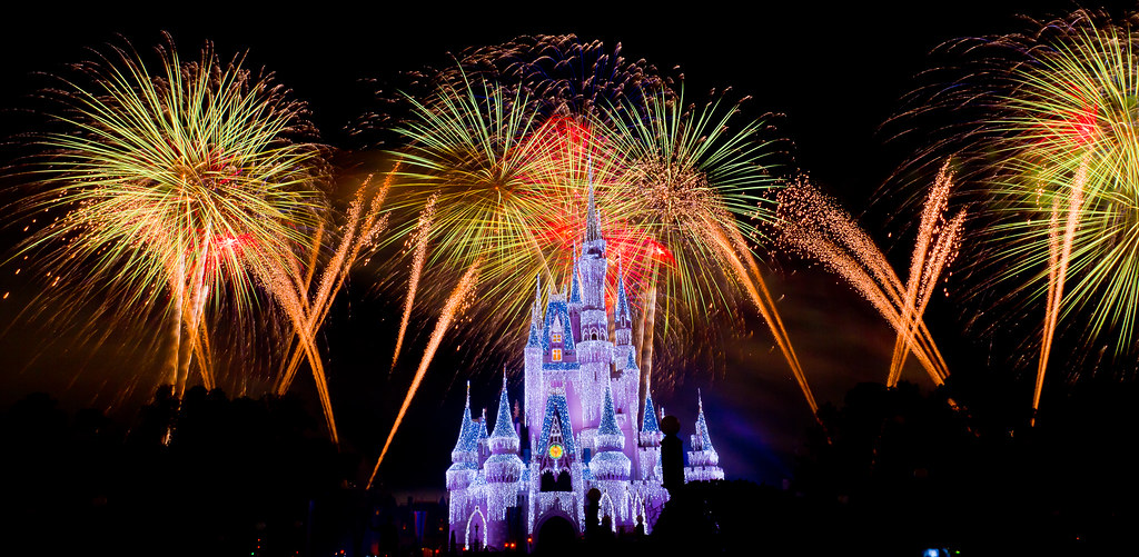 Magic Kingdom - Fireworks and Ice (Castle) | Another from th ...