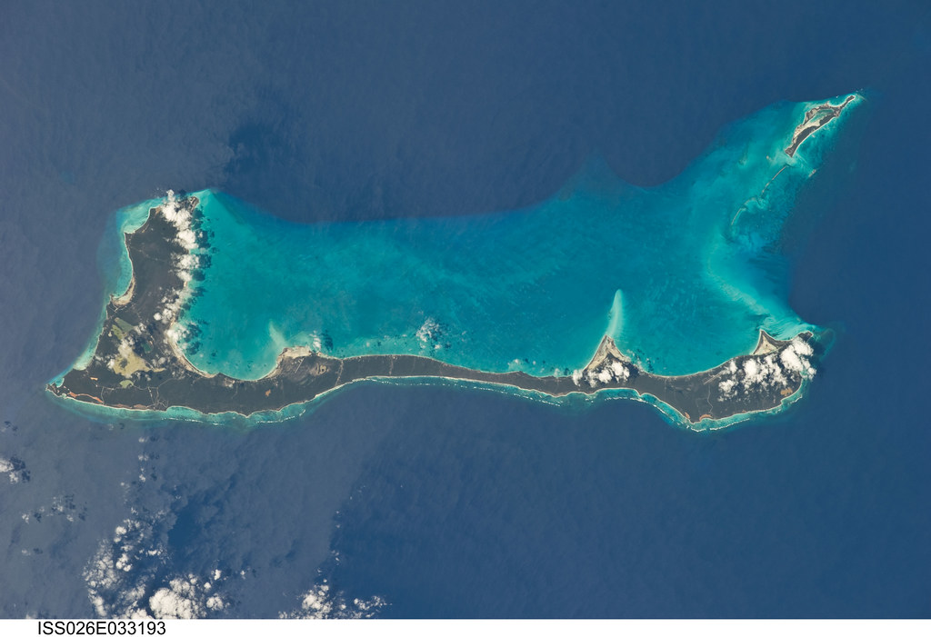 Cat Island, Bahamas (NASA, International Space Station, 03 ...