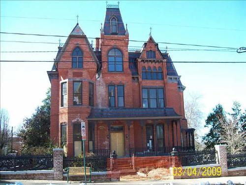 Gothic victorian house danville va flickr photo sharing for Gothic victorian house