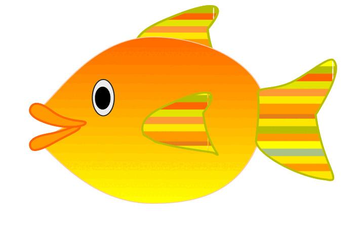 orange fish ske...
