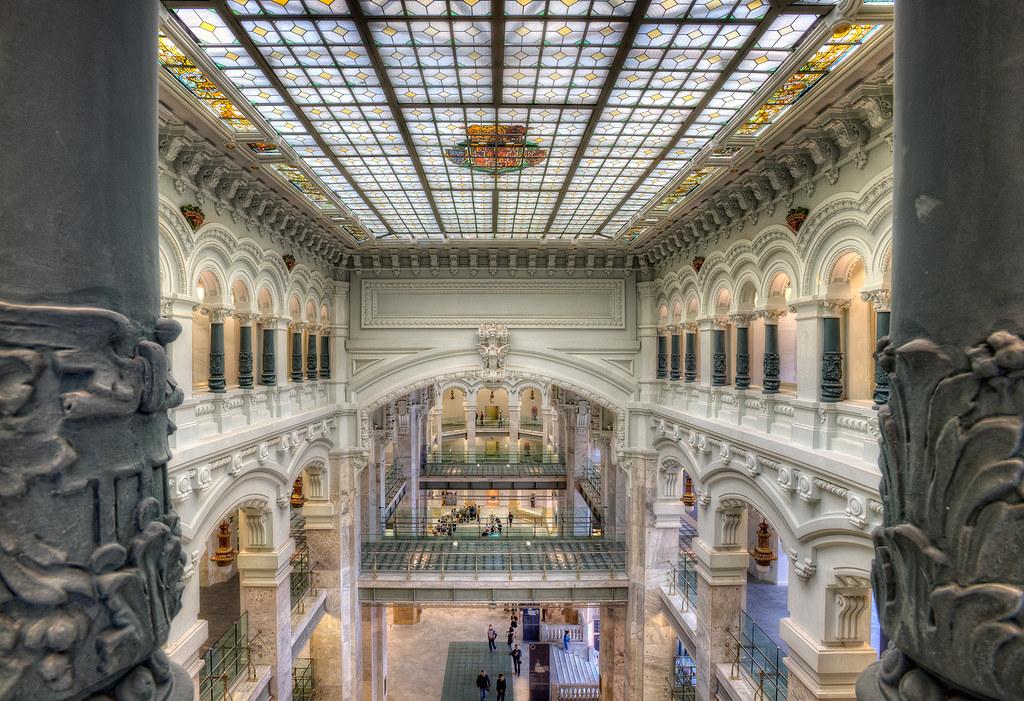 Palacio De Cibeles Madrid Spain Hdr City Council Of