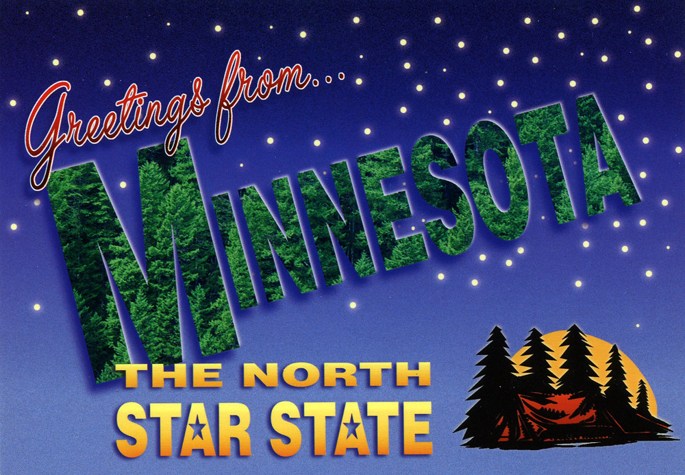greetings from minnesota  the north star state