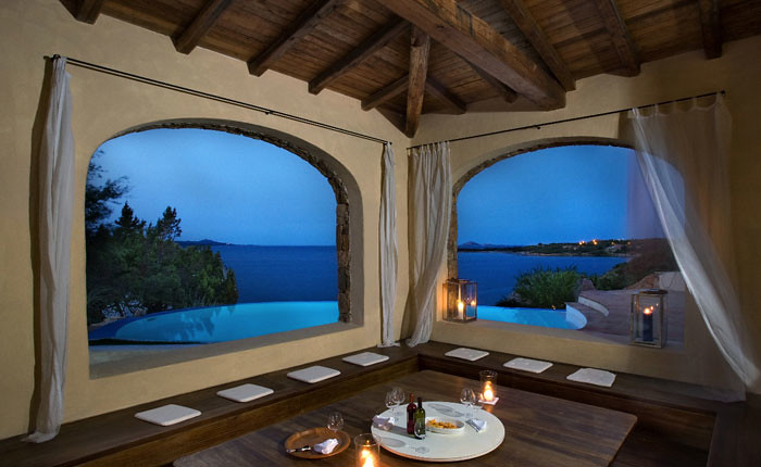 Villa Olbia for rent on the beach
