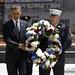 President Obama Lays Wreathe at Ground Zero