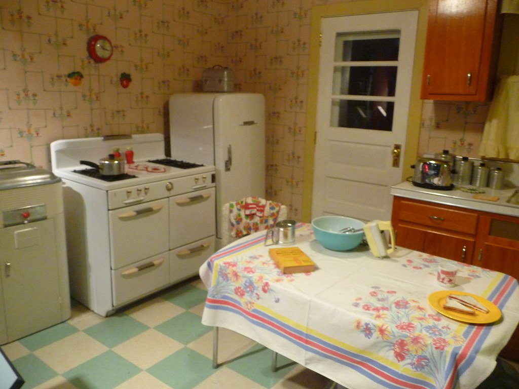 1950 S Style Kitchen 1950 S Style Kitchen At The Heinz