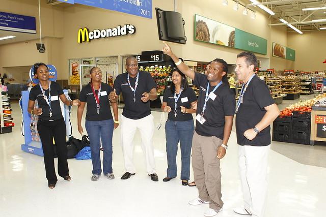 South African Walmart associates