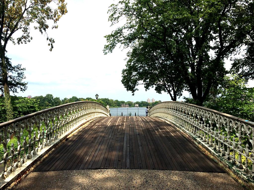 Central Park Bridge NY