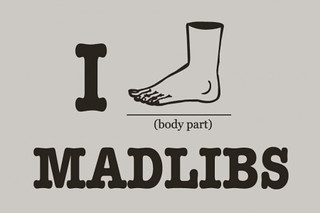I foot madlibs | by kirinqueen