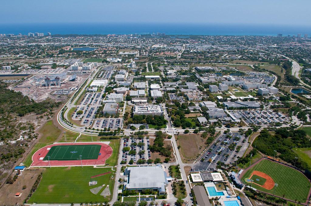 FAU Boca Campus - Aerial Photo | Aerial photo of the FAU Boc ...
