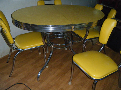 yellow formica table flickr photo sharing