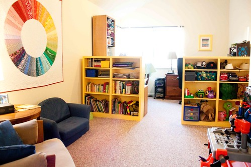 Playroom office studio by nordicflicka for Office playroom