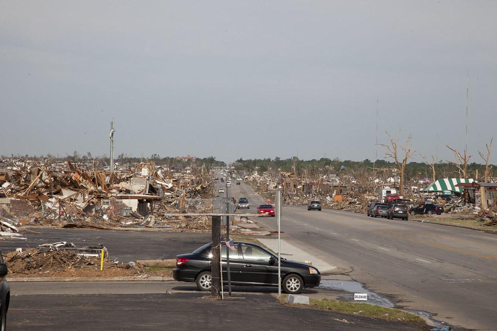 Joplin F5 Tornado Damage - May 2011 | The view down 20th ...