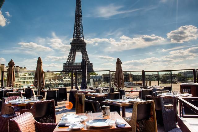 Eiffel Tower Over Restaurant Flickr Photo Sharing