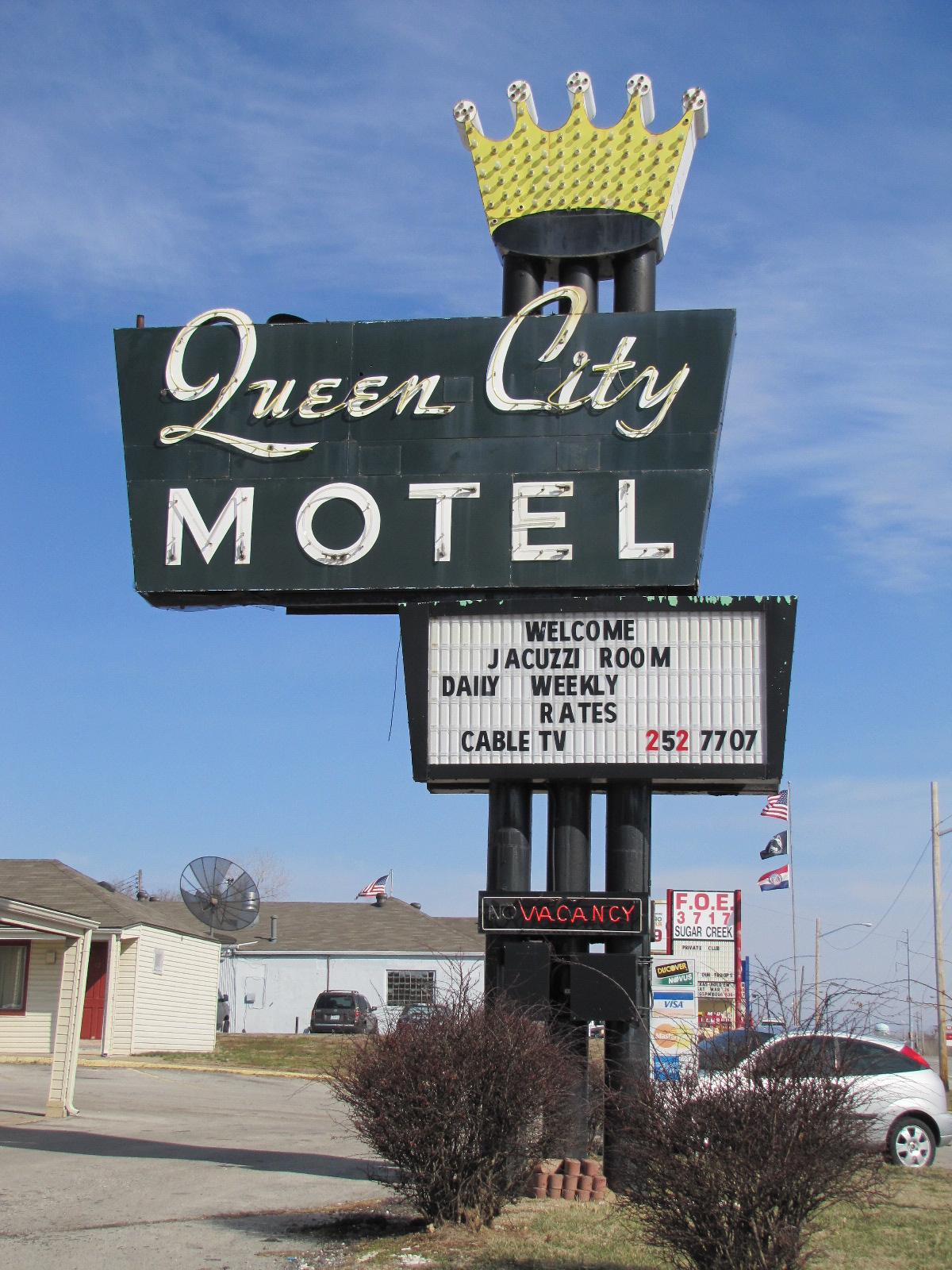 Queen City Motel - Sugar Creek, Missouri U.S.A. - March 6, 2011