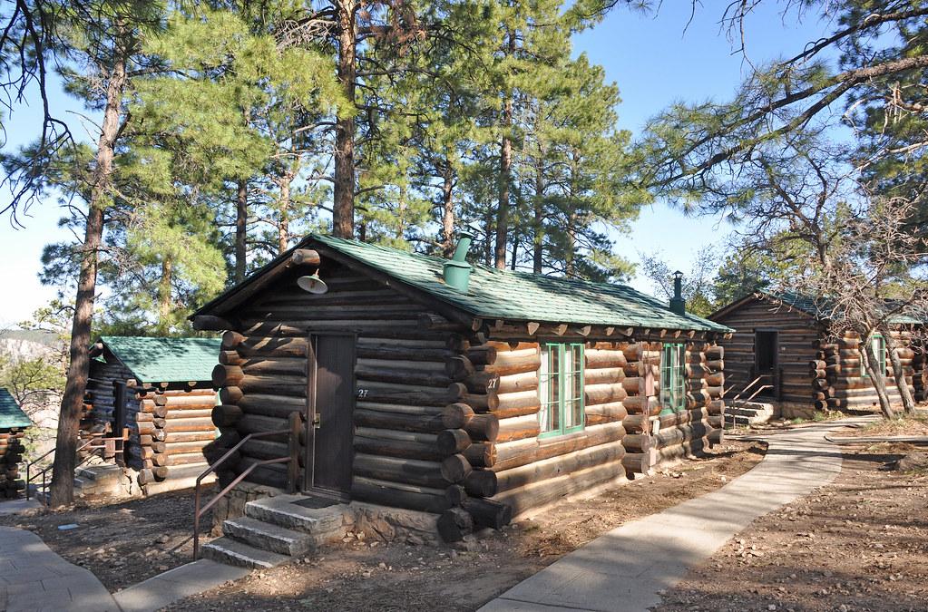 Grand Canyon Lodge North Rim Frontier Cabins 0411 Grand