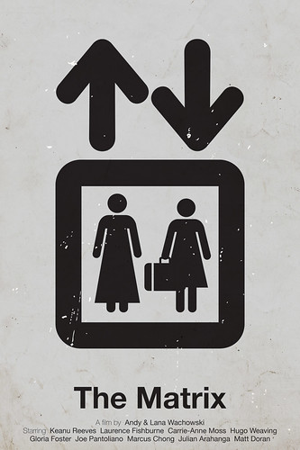 'The Matrix' pictogram movie poster | by Viktor Hertz