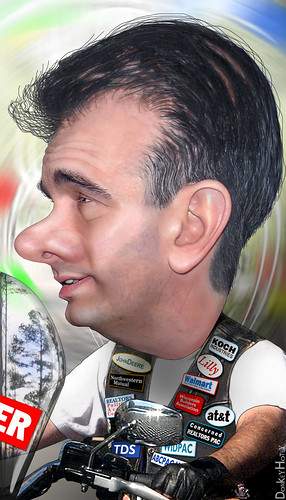 Scott Walker - Caricature | by DonkeyHotey