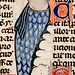 Mermaid. detail. France 13-14th cent. Royal 10E BL