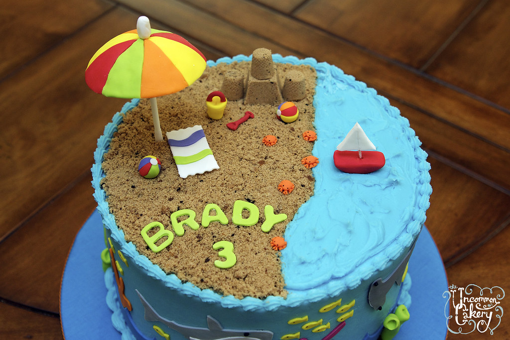 Beach Birthday Cake Recipes