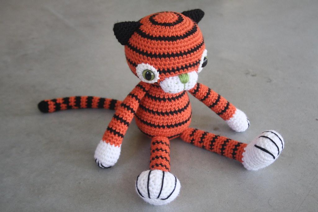 Customer order - amigurumi tiger Designs by Mari-Liis ...
