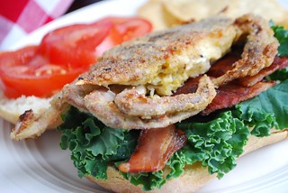 soft-shell crab sandwiche | by Alejandra of Always Order Dessert