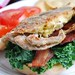 soft-shell crab sandwiche