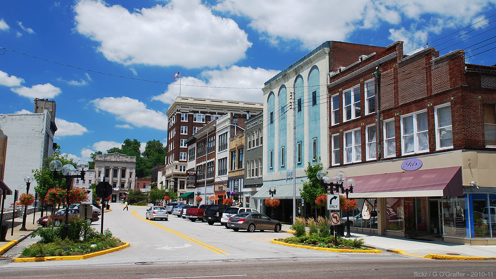 Downtown Alton Illinois On The Fourth Page Of The